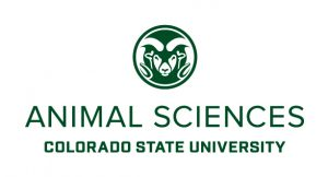 animal sciences centered word mark